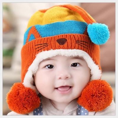 韓版可愛小貓造型護耳保暖帽