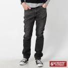 【5th STREET】美式純粹 純棉窄直筒牛仔褲-男款(中灰色)