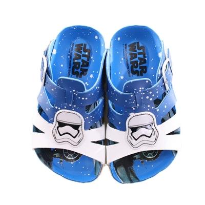 星際大戰休閒涼拖鞋 藍 sk0120魔法Baby