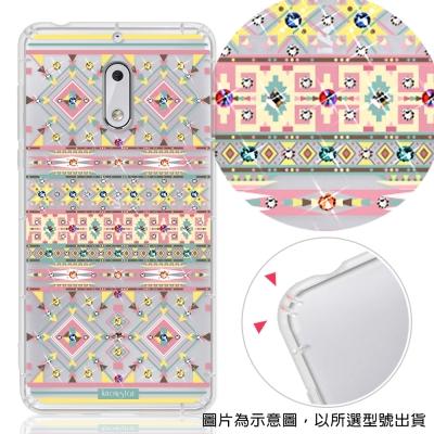 KnowStar Nokia6/Nokia5 彩鑽防摔手機殼-璇