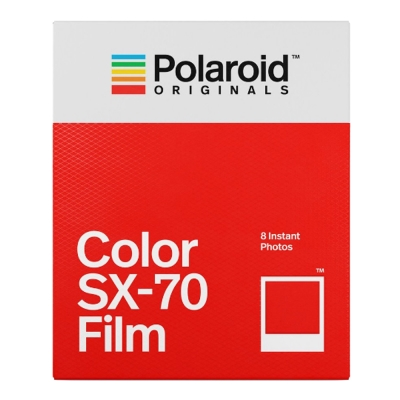 Polaroid Color Film for SX-70 彩色底片(白框)/2盒
