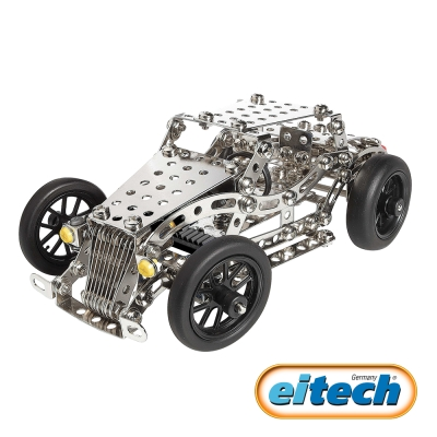 德國eitech益智鋼鐵-2合1經典老爺車-C14