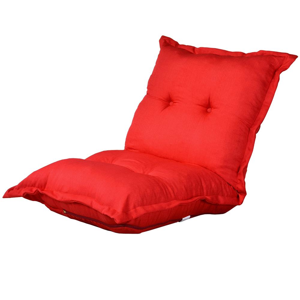 【戀香】胖嘟嘟加寬加厚五段式透氣和室椅(紅)