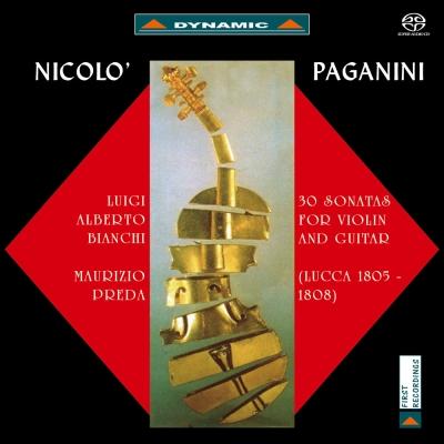 帕格尼尼:小提琴與吉他奏鳴曲I  2SACD