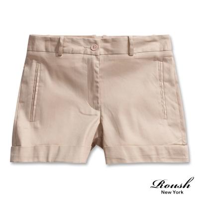ROUSH-女生反摺時裝短褲-4色