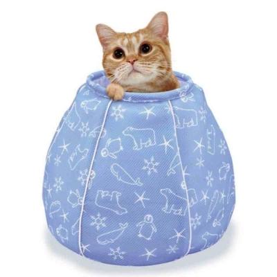 Marukan 貓咪避暑涼感水桶包【CT-405】