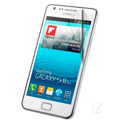 Samsung S2 Plus i9105 晶磨高光澤螢幕保護貼 螢幕貼(二入)