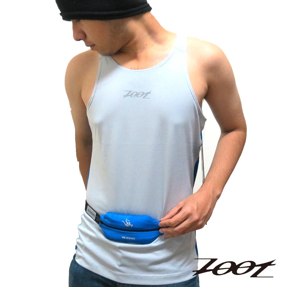 ZOOT 頂級冰涼感運動背心(炫銀雅藍)(男) Z1504012