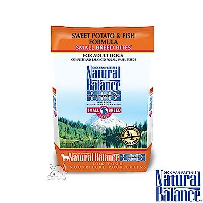 Natural Balance 低敏系列 無榖地瓜鮭魚 全犬糧 小顆粒 4.5磅 x 1包