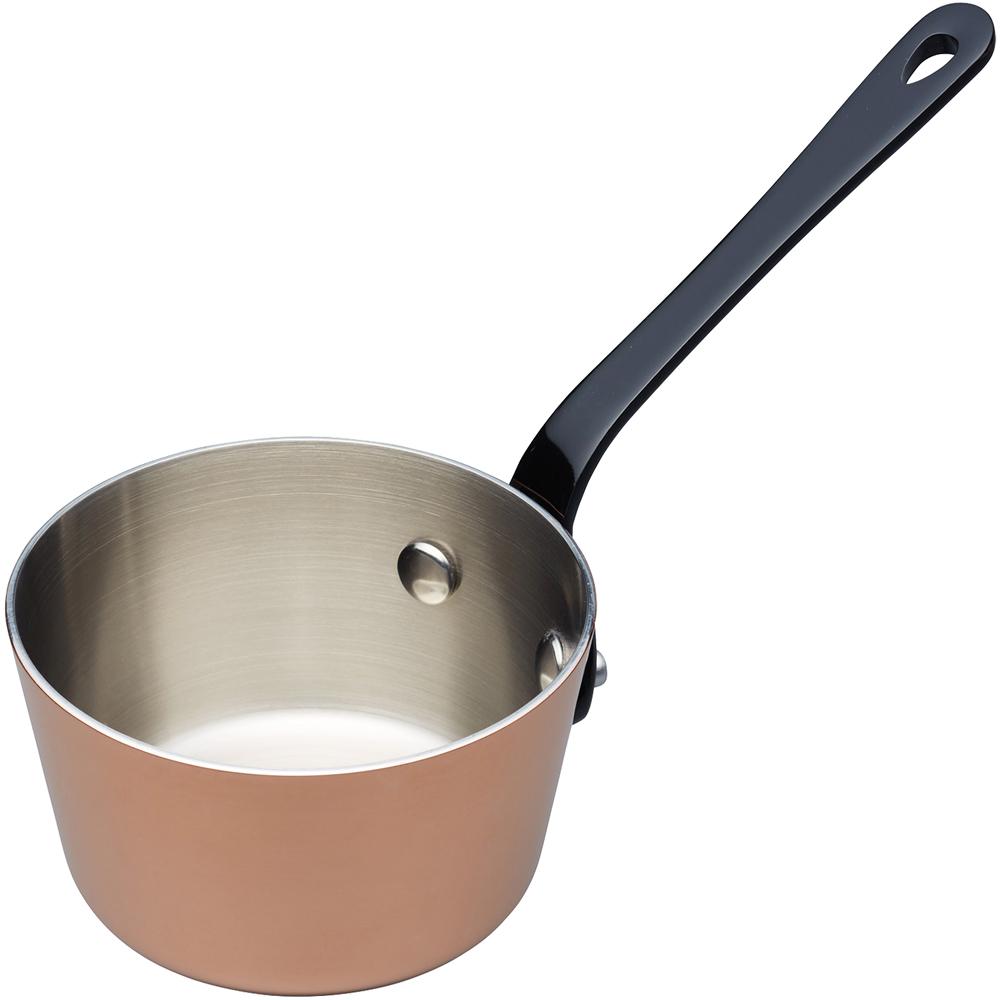 《Master》Mini鍍銅不鏽鋼牛奶鍋(10cm)