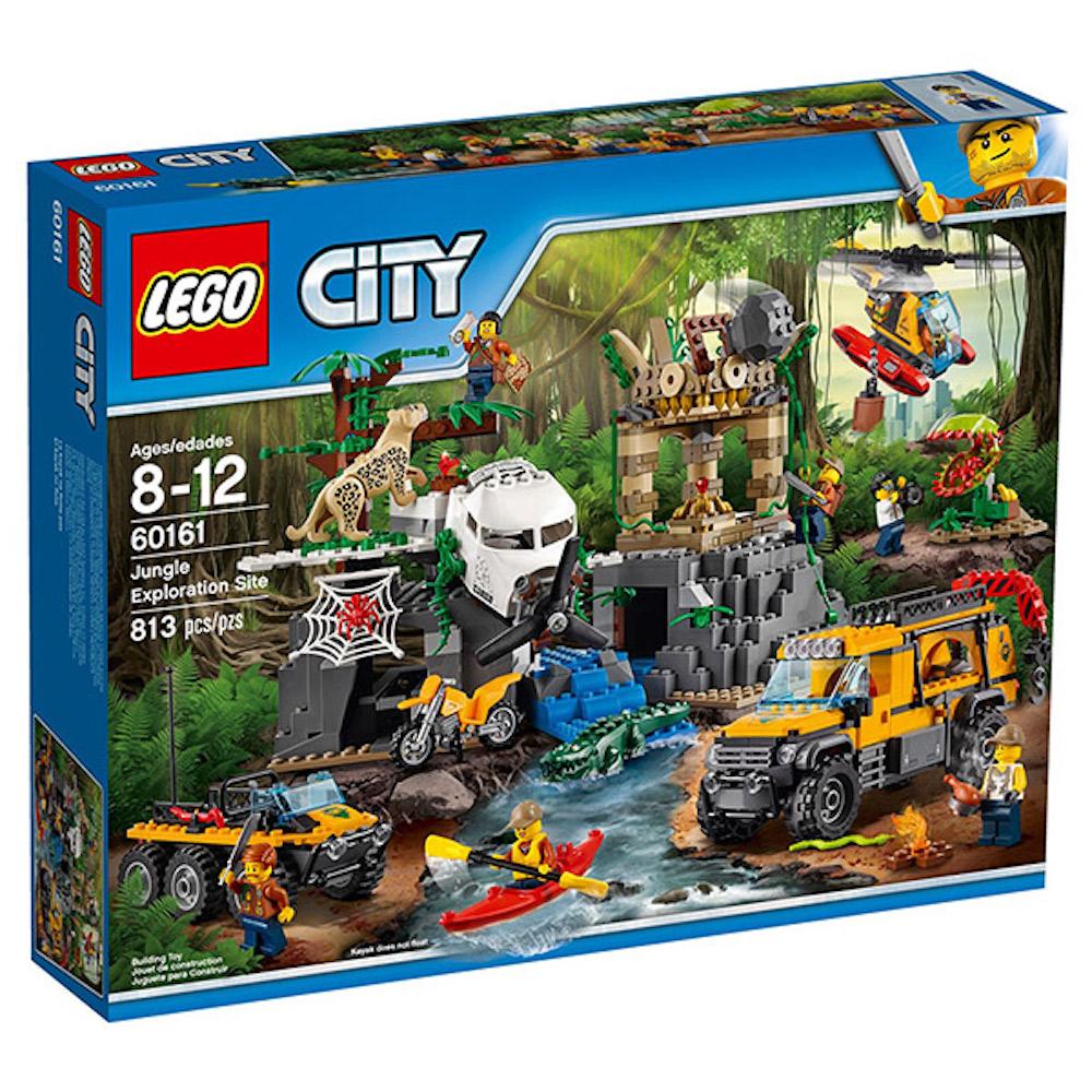 LEGO樂高 城市系列 60161 叢林探險站