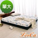 LooCa天絲12cm超薄型獨立筒床墊(單人)