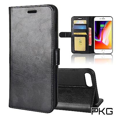 PKG Apple IPhone7/8 Plus 側翻式皮套-經典系列