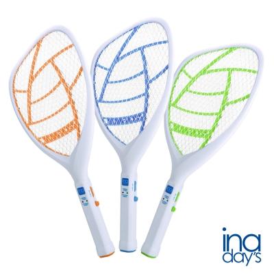 inadays 捕蚊達人-三層充電式捕蚊拍(顏色隨機出) H-100 (1入)