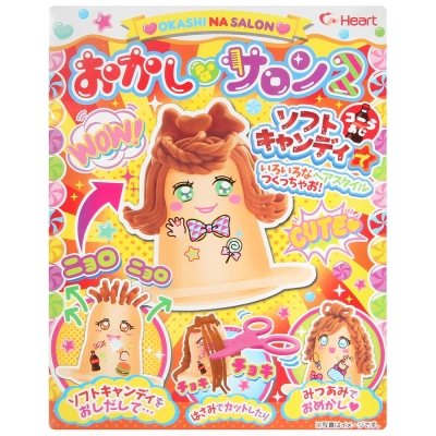 安部製果手作沙龍髮型可樂風味糖-附玩具25g