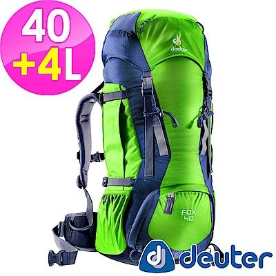 【ATUNAS 歐都納】德國DEUTER 登山休閒旅遊拔熱背包40+4L/36083綠灰