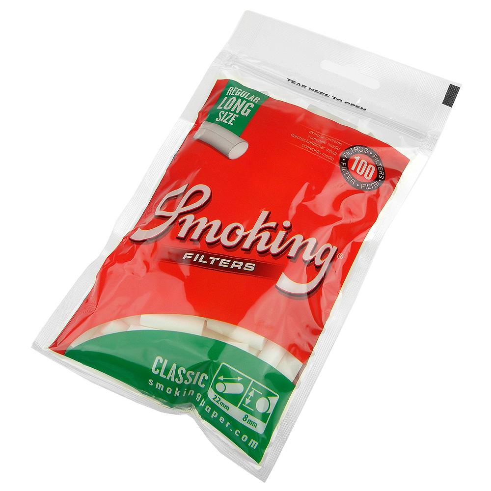 Smoking 西班牙進口-捲煙專用濾嘴-8mm-加長型*2包