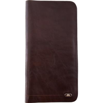 TONY PEROTTI 義大利公牛皮 無車縫系列 護照夾 ( 咖啡色 )