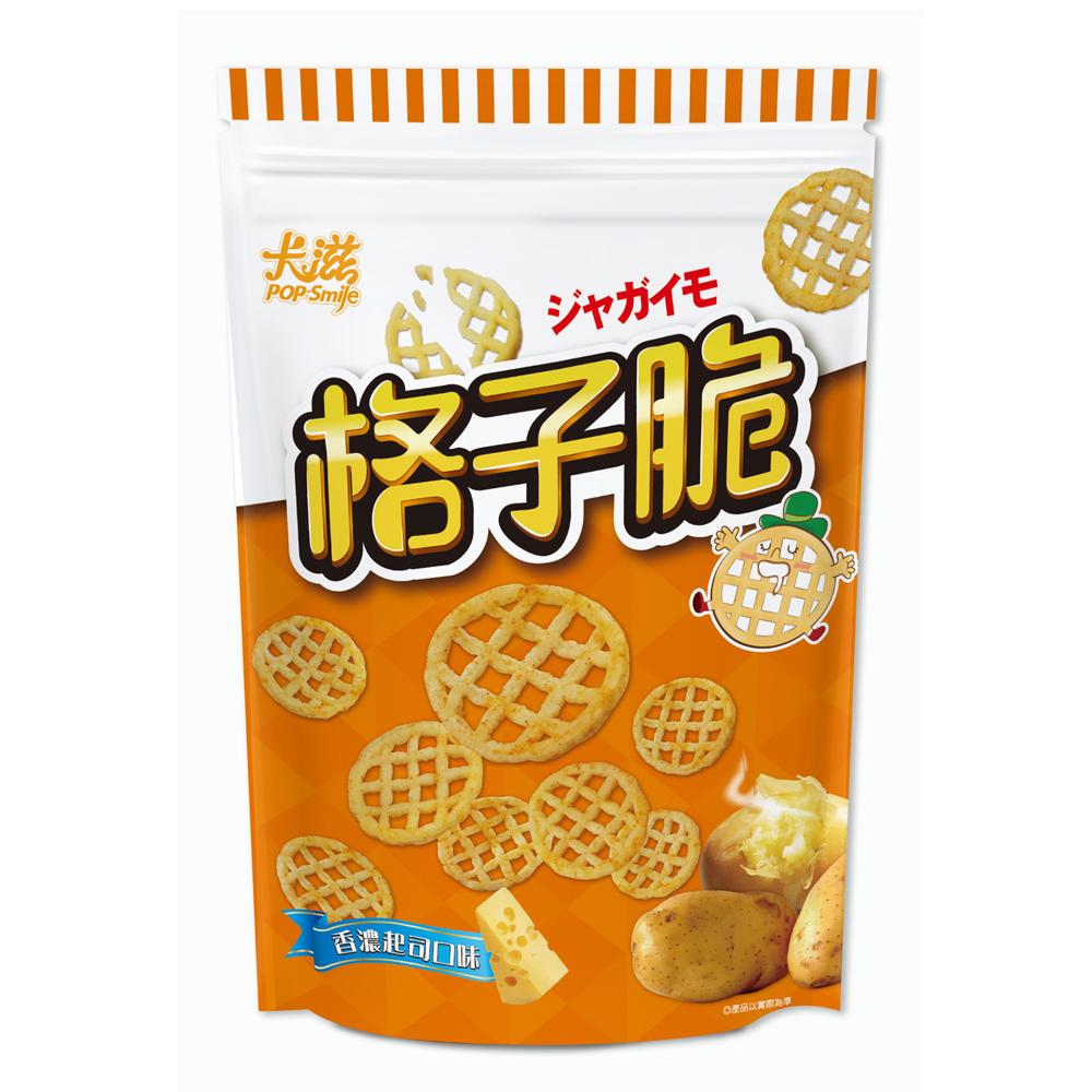 卡滋格子脆-香濃起司口味(360g)