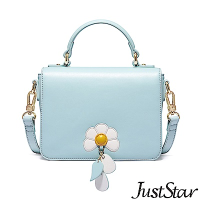 Just Star 桃樂絲花漾吊飾包 琉璃藍