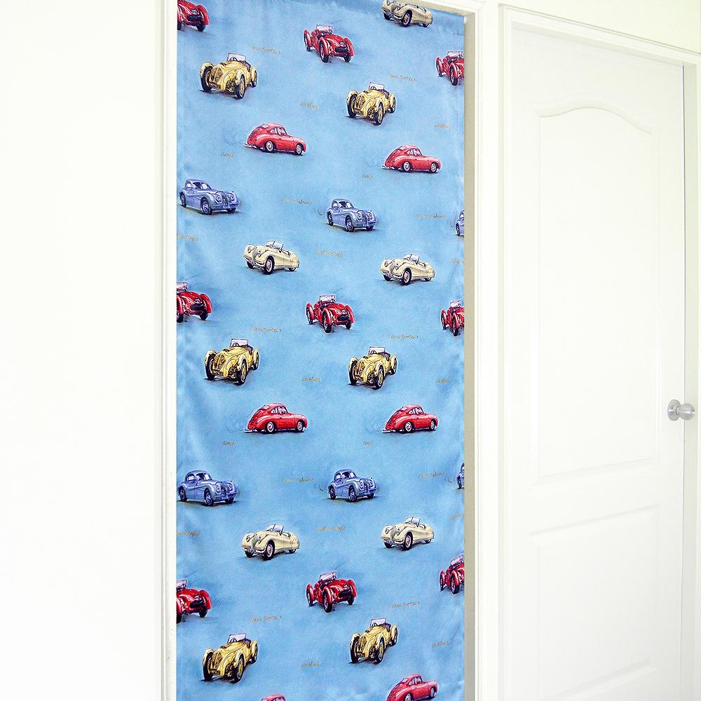 布安於室-經典汽車遮光風水簾-藍色