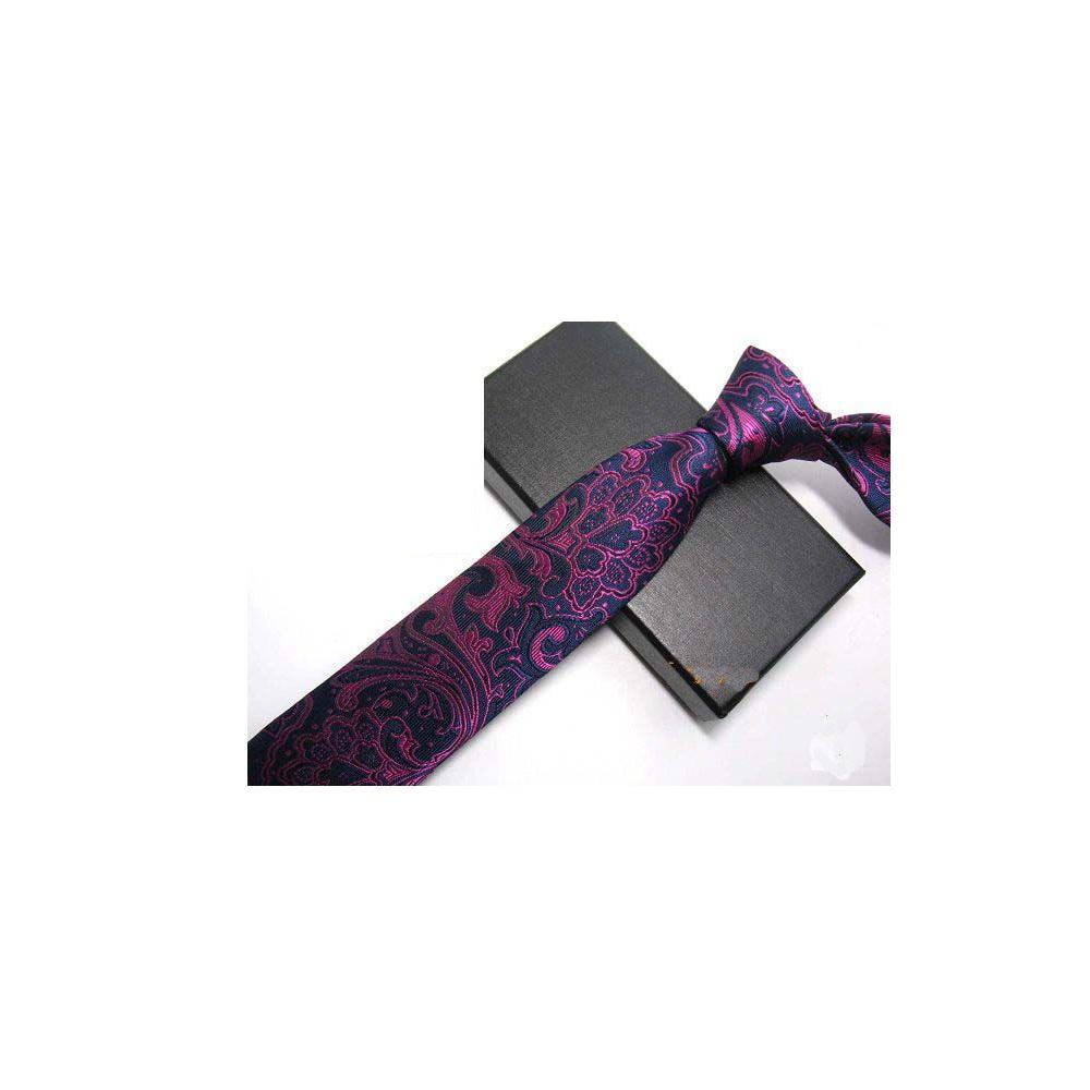 拉福   領帶風龍領帶6cm領帶拉鍊領帶