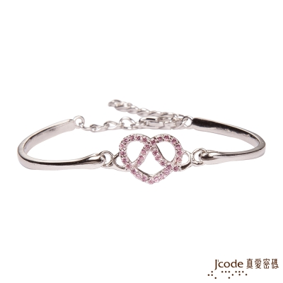 J'code真愛密碼 無限愛情純銀手環