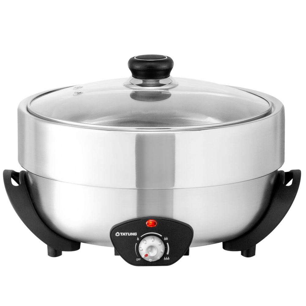 [福利品]大同4L不鏽鋼電火鍋(TSB-4013SY)