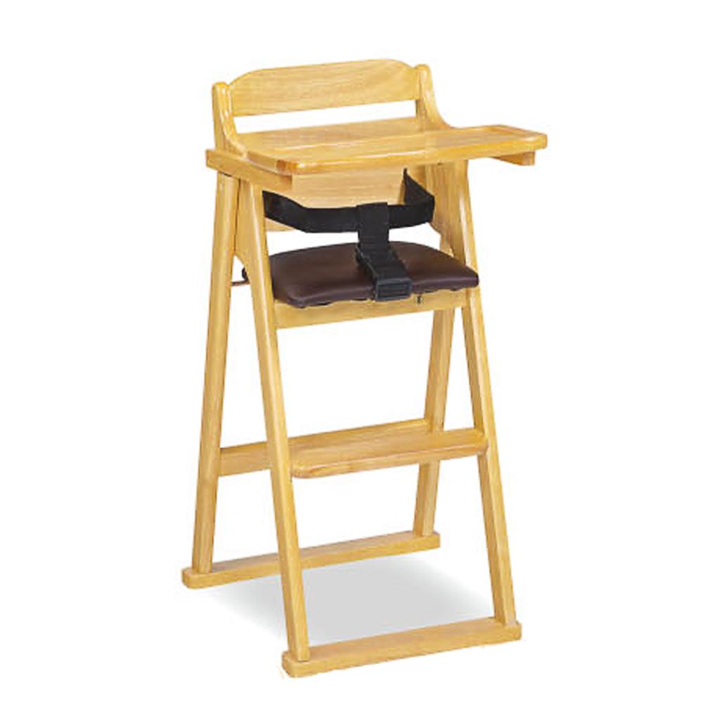AS-Irene本色折合寶寶椅-53x39x87cm