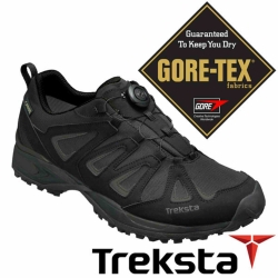 Treksta 韓國 男 Gore-Tex 防水健行鞋 『黑』KR17BM