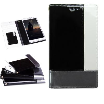 韓國 LKUN Samsung Note3 N900  時尚混搭牛皮手機皮套