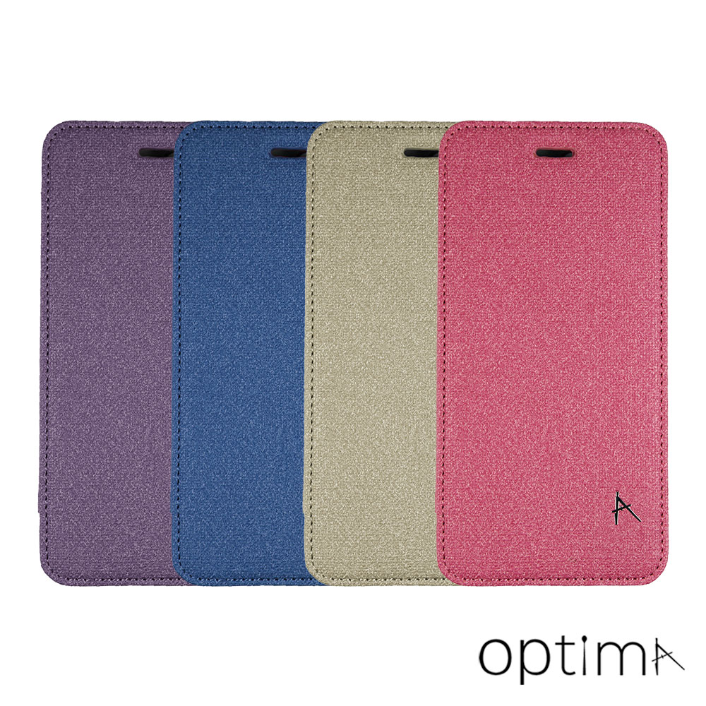Optima iPhone 7 Plus 側掀站立型皮套 亞麻系列