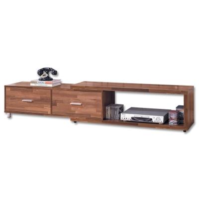 Boden 薩倫二抽伸縮電視櫃/長櫃 多色可選