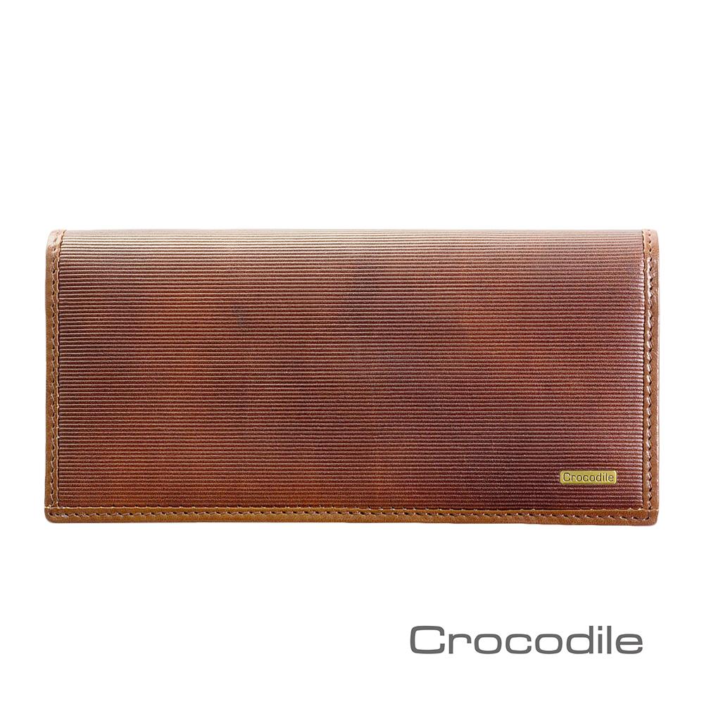 Crocodile Bravo系列義大利植鞣長夾 0103-07101-02