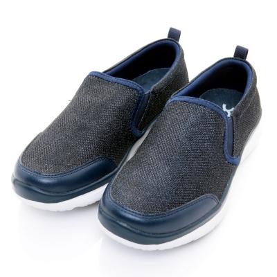 XCESS-女休閒鞋GW027NVY-藍