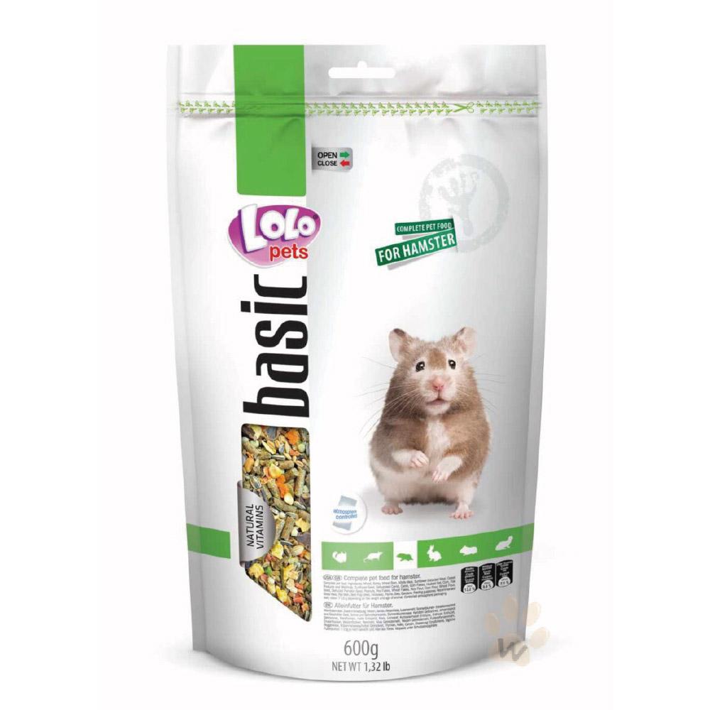 LoLo 營養滿分寵物鼠主食600g