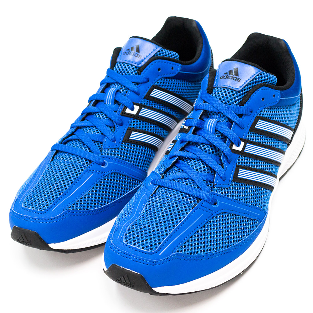 ADIDAS-MANA BOUNCE男慢跑鞋-藍