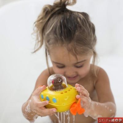 Skip Hop 猴子潛水艇洗澡玩具組