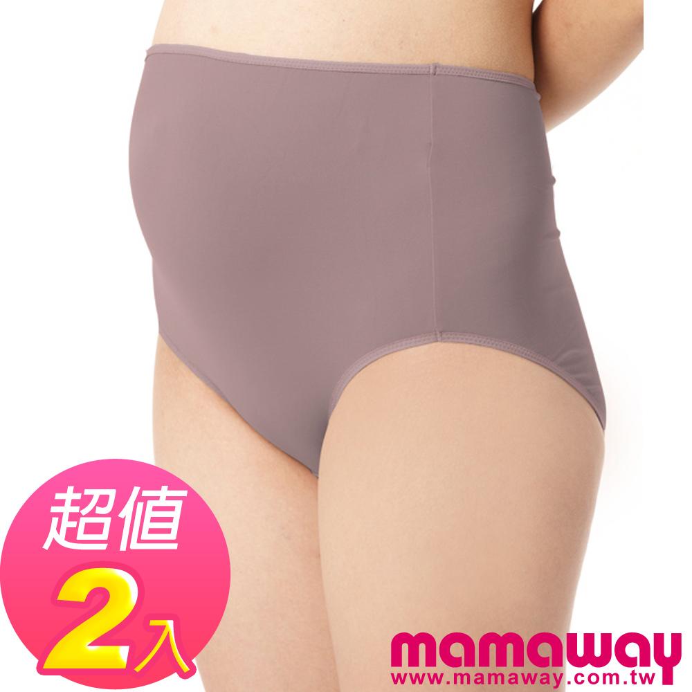 Mamaway 產前抗菌無感孕婦內褲(2入) (共四色)
