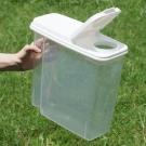 【寵物飼料零食】透明儲存桶