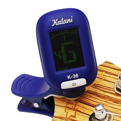 Kalani 烏克麗麗/吉他 5合1雙色冷光調音器(藍色)+加贈 PICK