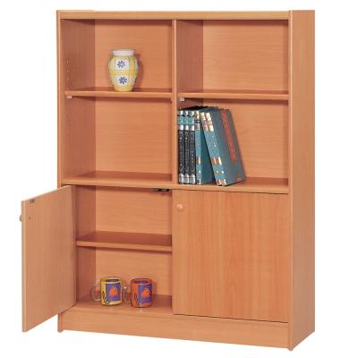 時尚屋 豪豐3x4尺1門書櫃 寬90cm 多色可選-免組