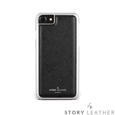 STORYLEATHER i7 / i8 4.7吋 手機殼 十字紋黑現貨