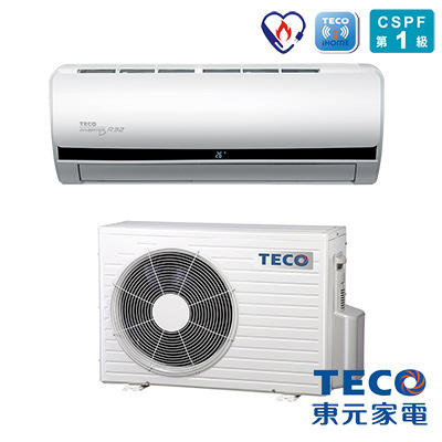 TECO東元 R32變頻一對一冷專空調7-9坪 MS40IE-HS
