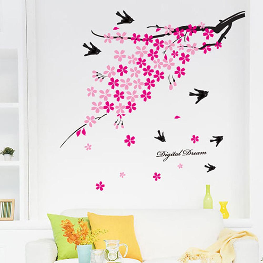 時尚壁貼 - 支頭飛雁