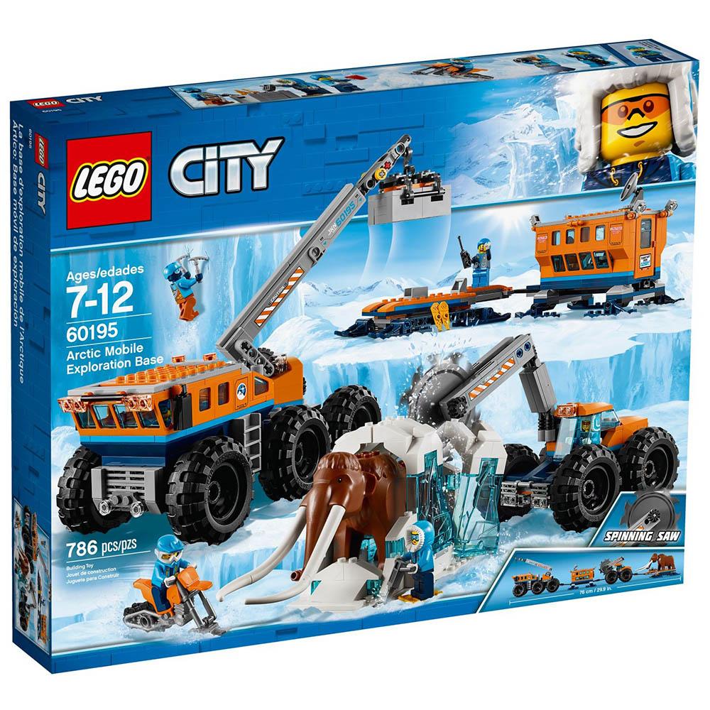 樂高LEGO 極地探險系列 LT60195 極地行動探險基地