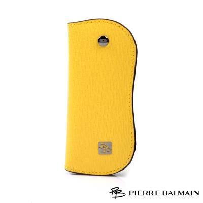 PB皮爾帕門-時尚時尚100-頭層真牛皮單鎖扣鈕鑰