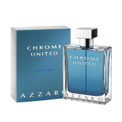 Azzaro Chrome United 酷藍唯我男性淡香水 100ml