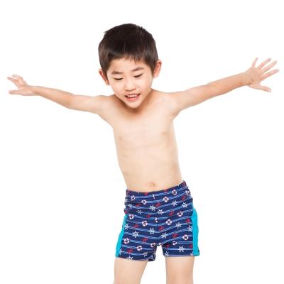 Aquanaut奧可那泳裝 帥氣船舵圖騰泳褲