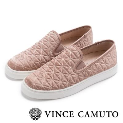 Vince Camuto 氣質UP菱格懶人便鞋-粉紅色